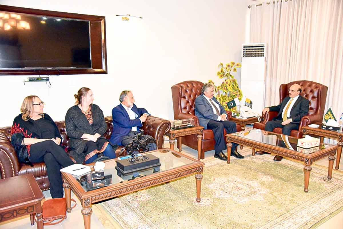 Human Rights Delegation Returns Home with Commitment to Intensify Efforts for Kashmir