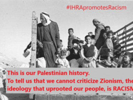 IHRA-Promotes-Racism