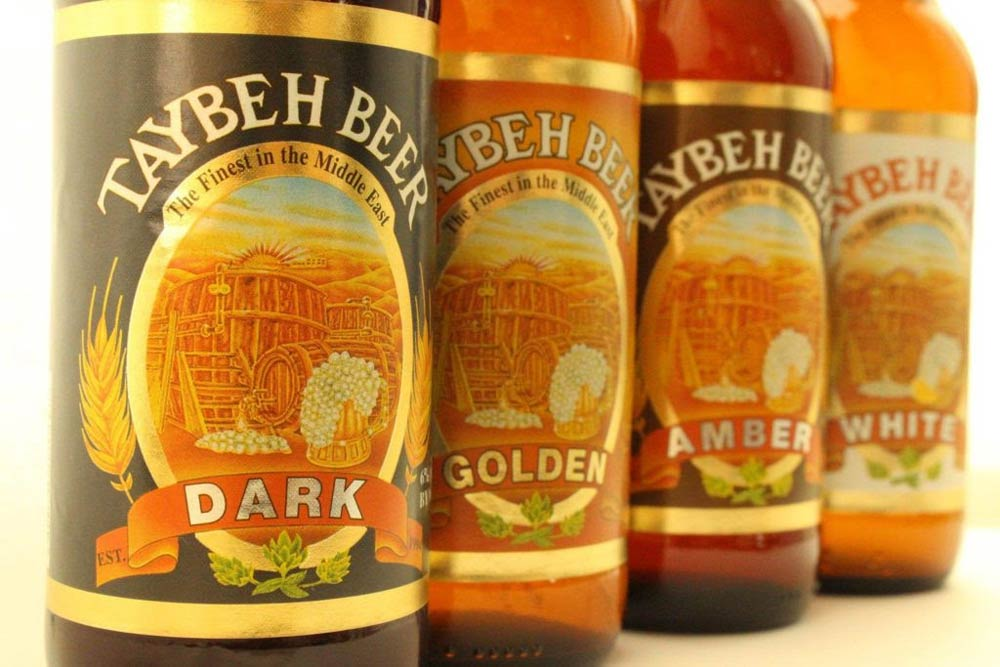 Taybeh premium high-quality hand-crafted beer