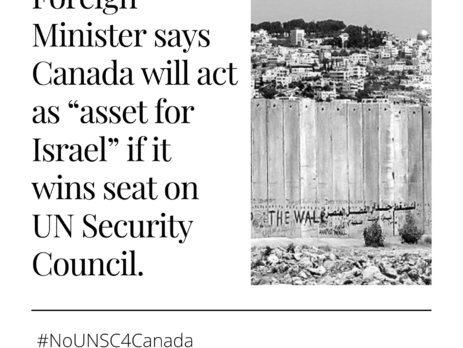 No UN Security Council seat for Canada