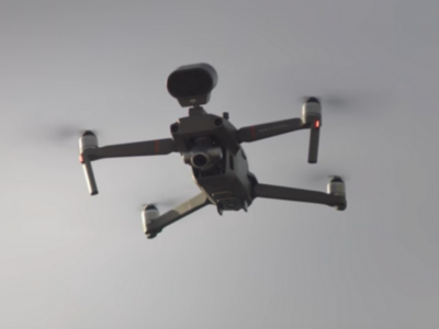 Drone used by Israeli military
