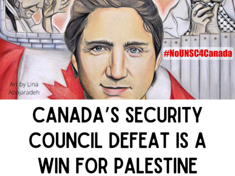 Canada's Security Council Defeat is a win for Palestine