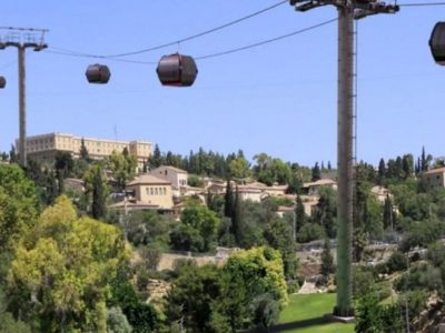 Israeli plan to run a cable car over Jerusalem to the walls of the Old City has angered Palestinians. (Photo: via Social Media)